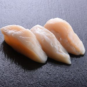 THE SCALLOP SASHIMI